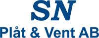 SN Plåt & Vent AB – Ventilation & Plåtslageri Logotyp